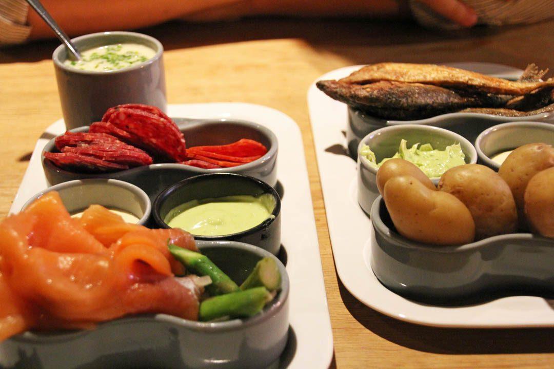 Restaurant en Norvège