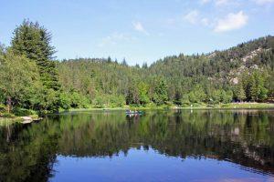 Lac du Mont Floyen à Bergen
