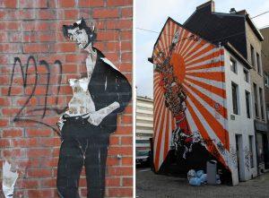 Street art à Charleroi