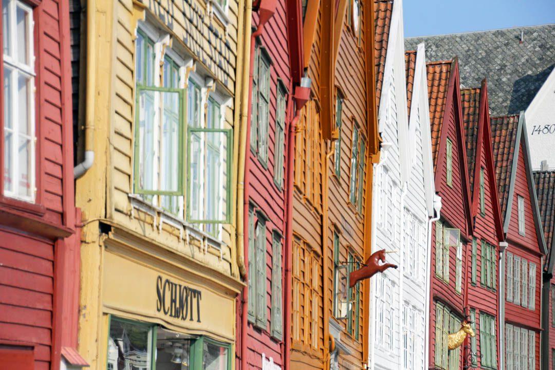 Bryggen, port historique de Bergen