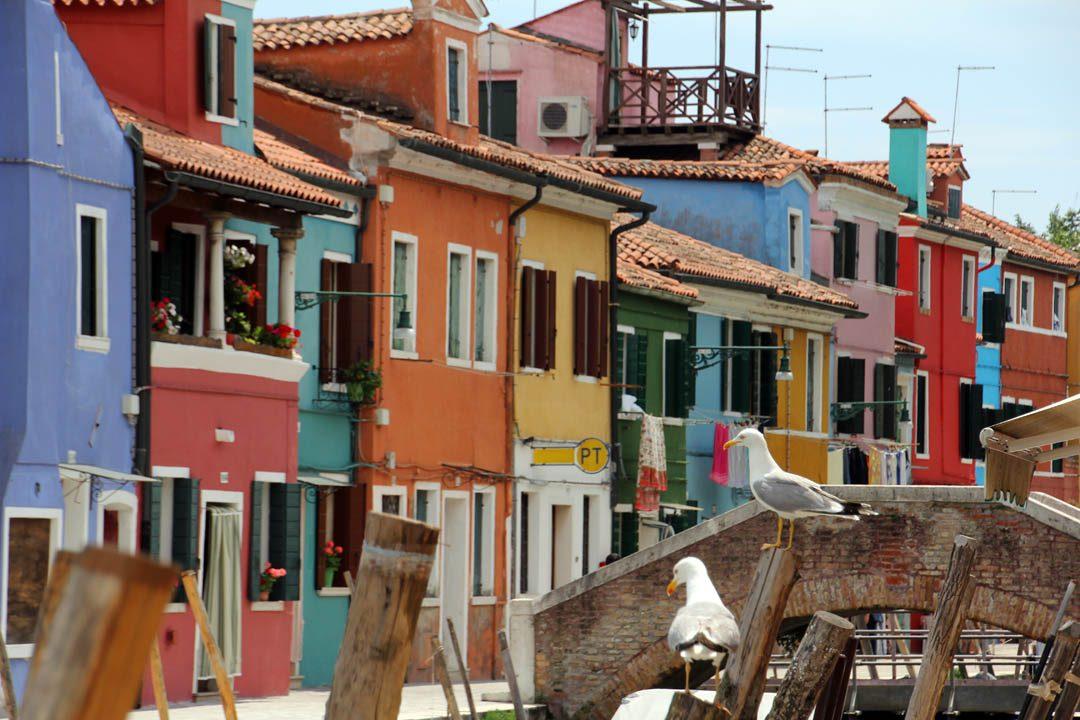 Ile de Burano, près de Venise
