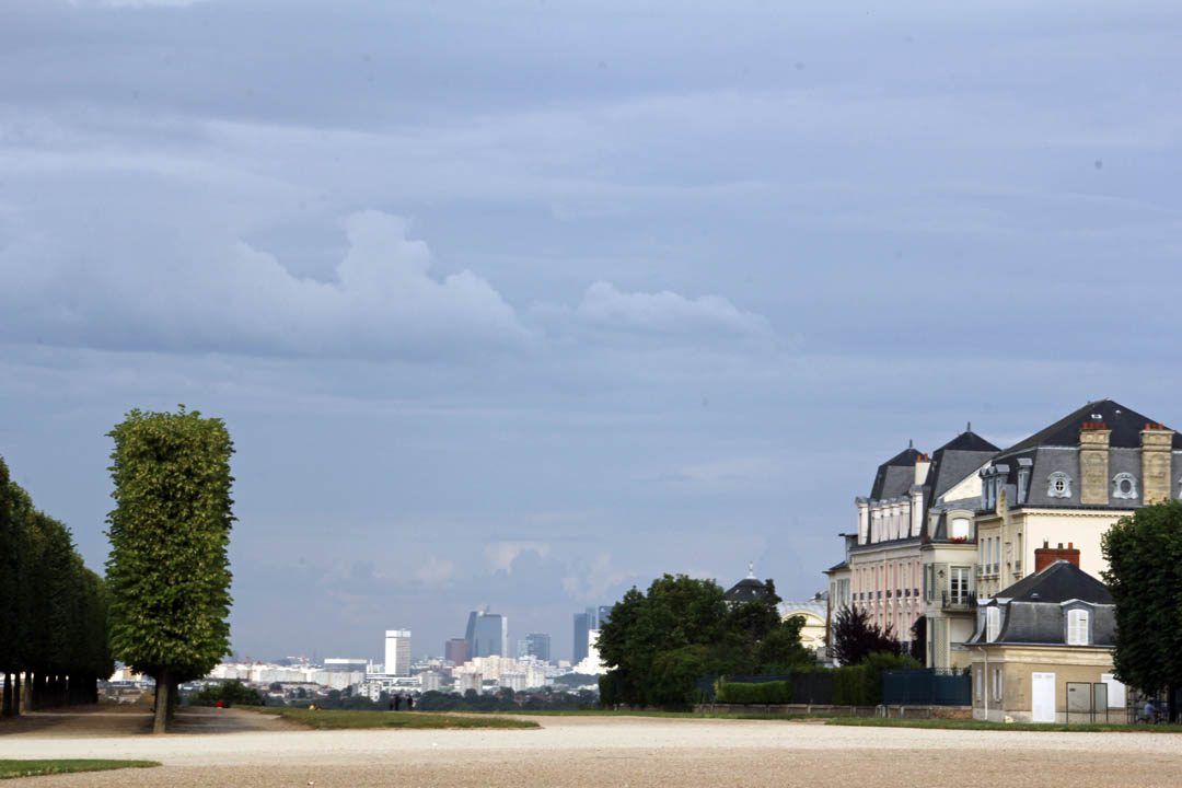 Terrasse Château de Saint Germain en Laye dans les Yvelines