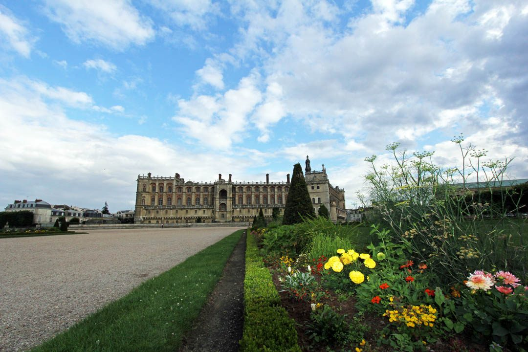 Parc Château de Saint Germain en Laye dans les Yvelines