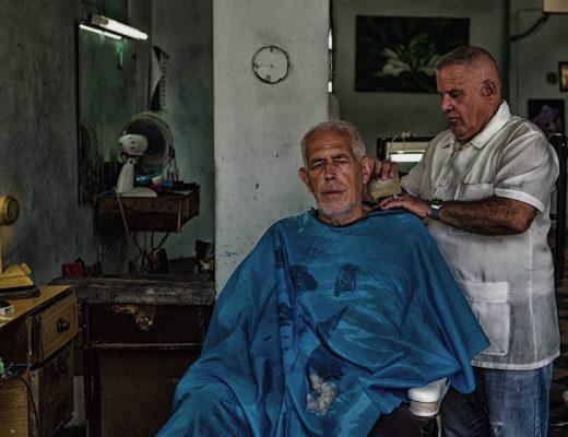 Barbier à Cuba