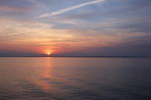 coucher de soleil canadien