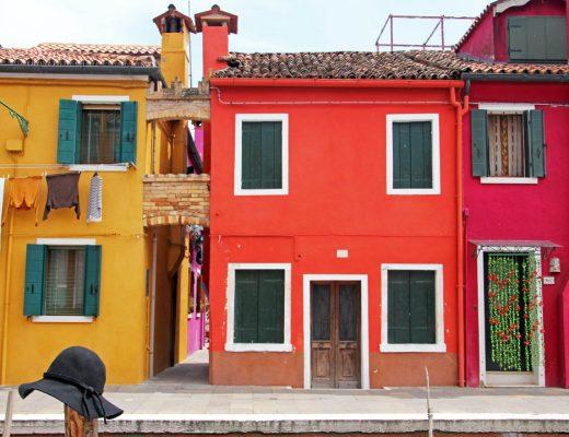 L'île de Burano à Venise