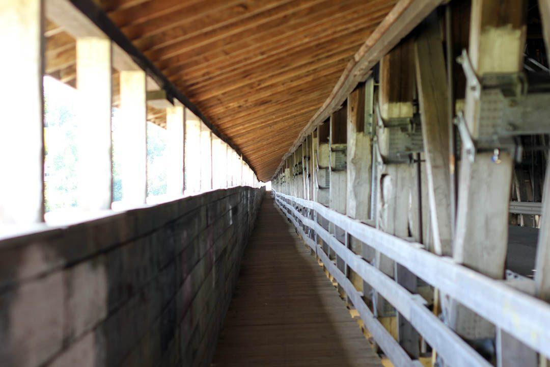 Plus long pont couvert à Hartland