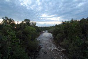 Riviere-du-Loup, parc des chutes