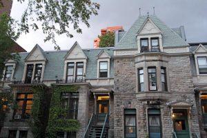 Montréal - maisons Mont Royal