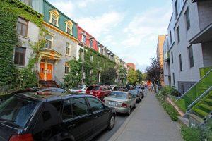 Montréal - Rues colorées
