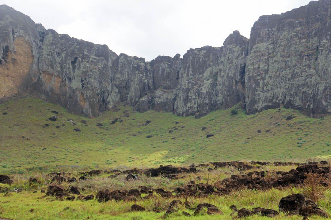 Paysage de l'Ile de Pâques - Rapa Nui