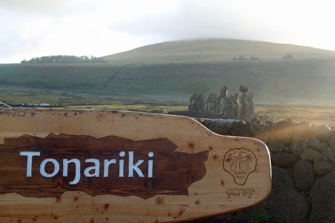 Moaïs de Tonariki à l'Ile de Pâques - Rapa Nui