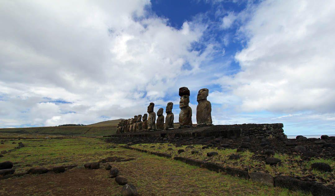 Moaïs à l'Ile de Pâques - Rapa Nui