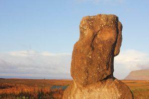 Moaï à l'Ile de Pâques - Rapa Nui