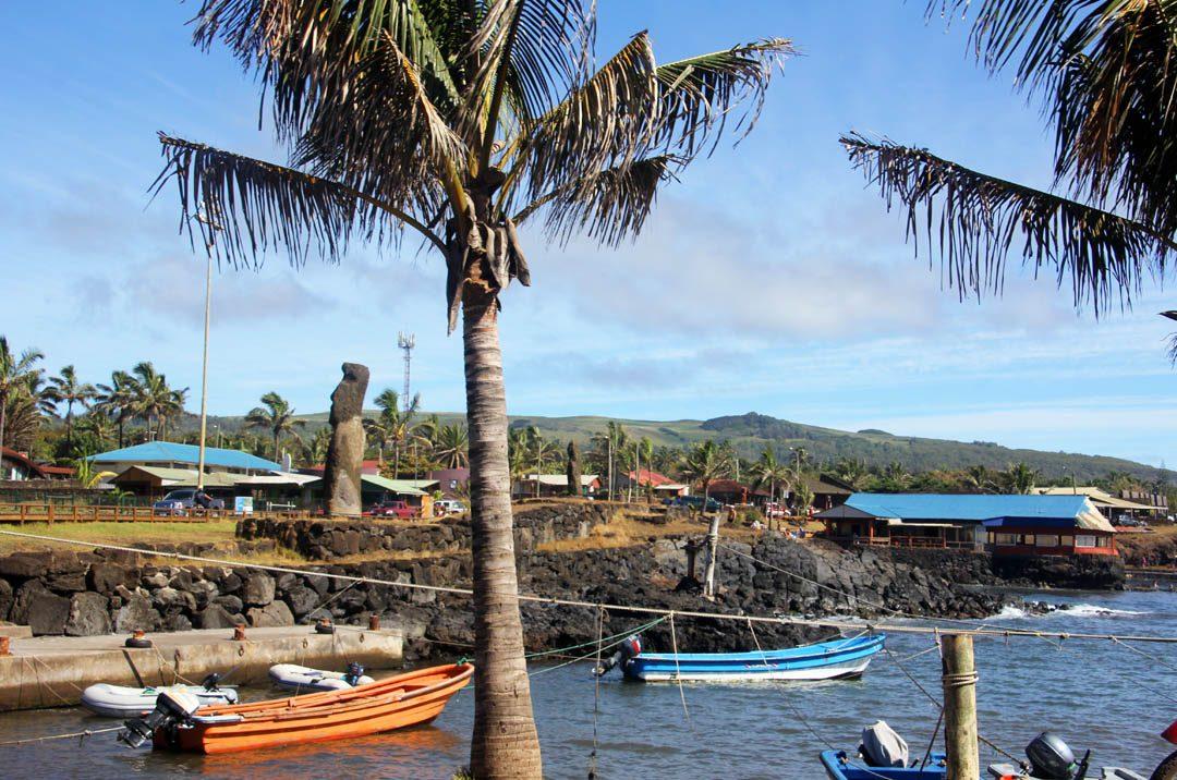Port de Hanga Roa - Rapa Nui