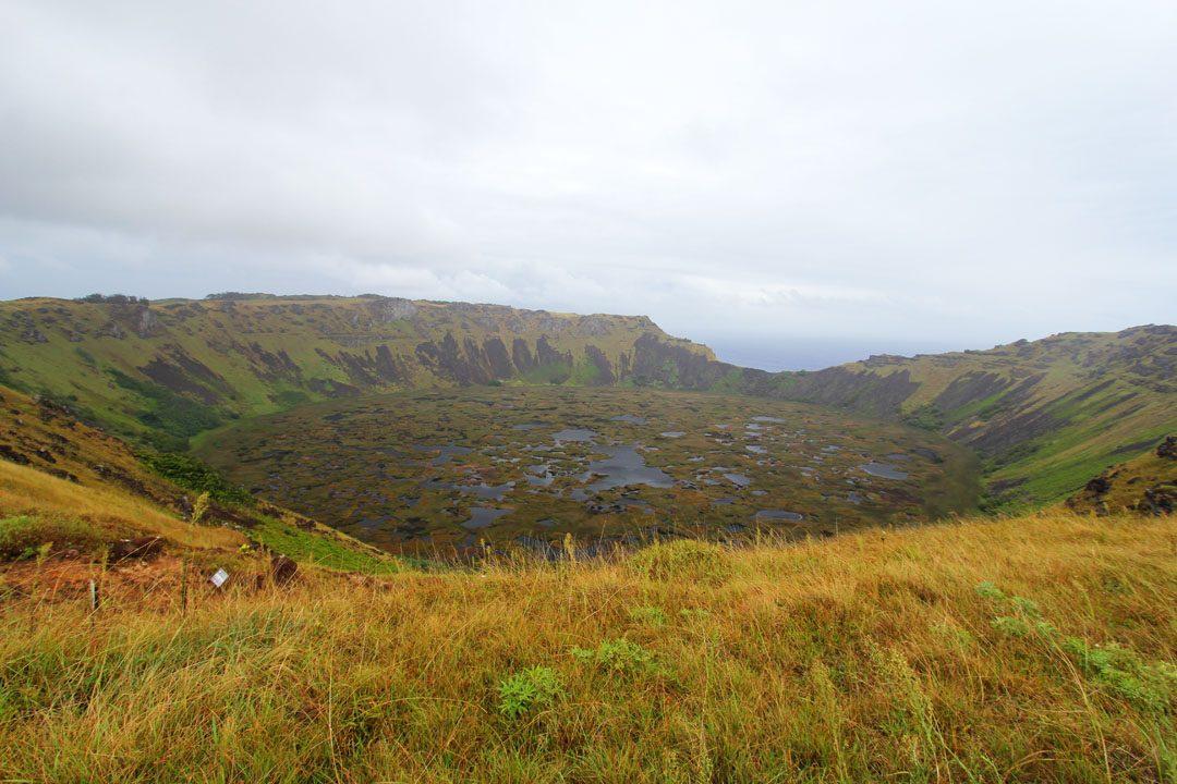 Volcan Rano Raraku Ile de Pâques - Rapa Nui