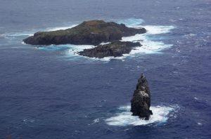 Iles légendaires au large de Rapa Nui