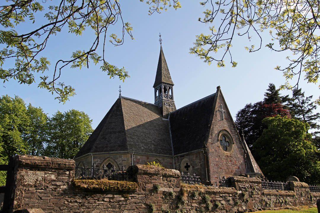 Eglise de Luss en Ecosse
