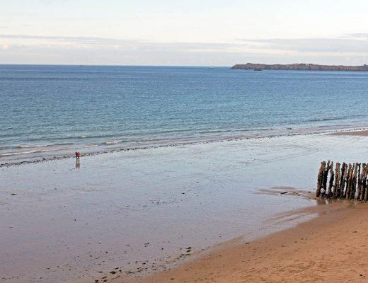 Grande plage du Sillon à Saint-Malo