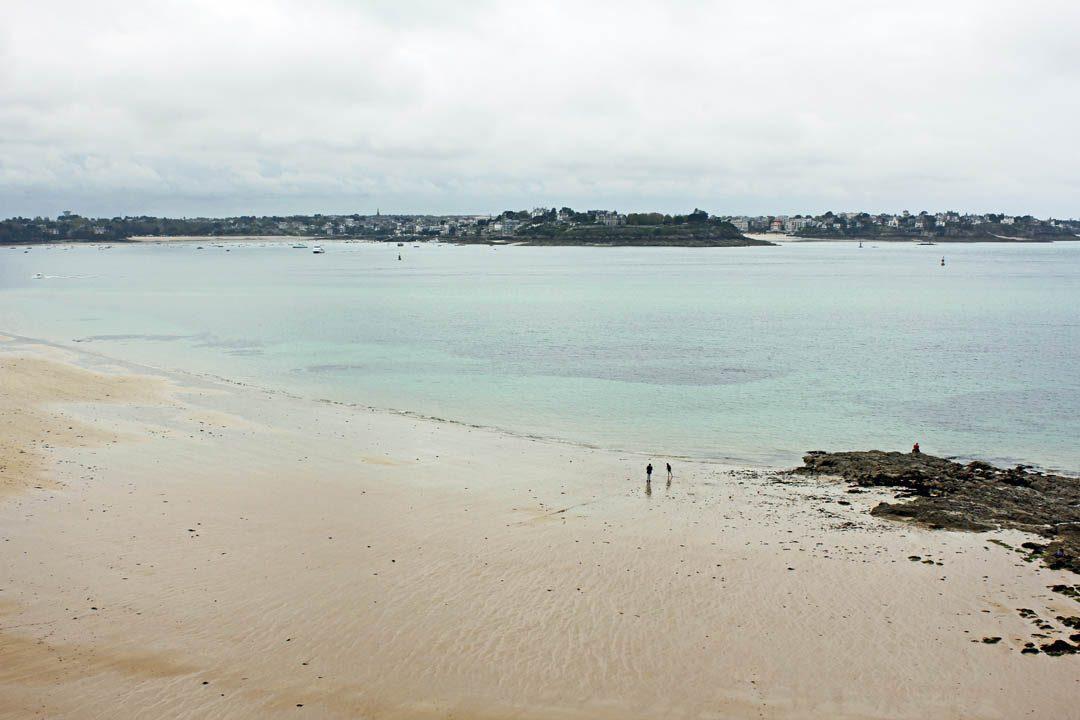 Plage du bon Secours à Saint-Malo