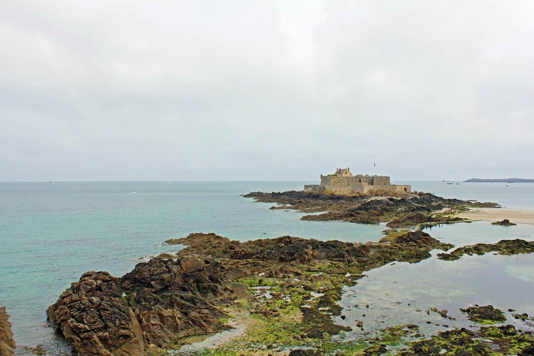Ile de Grand Bé à Saint-Malo