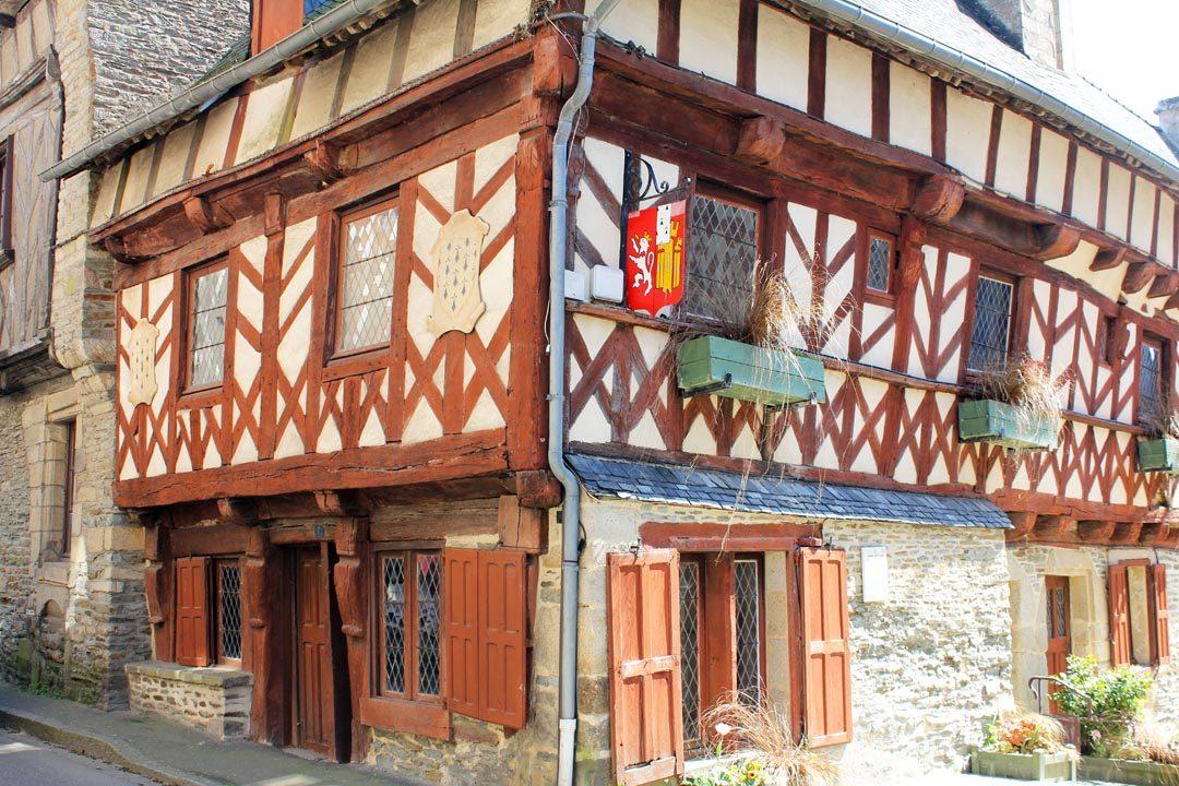 Ville de Josselin en Bretagne