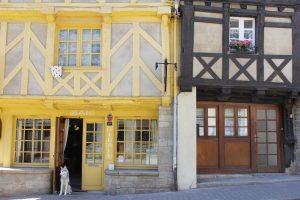 Maisons bretonnes à Josselin