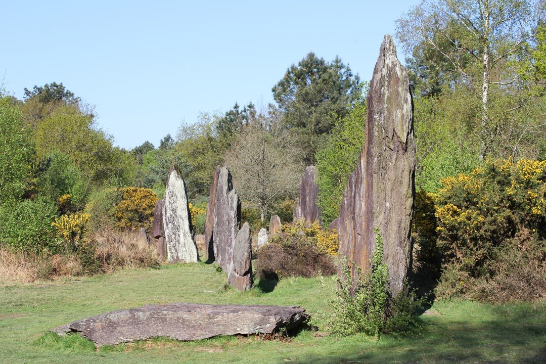 Menhirs de Monteneuf à Brocéliande