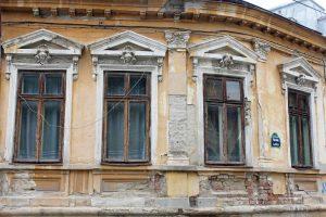 Jolie façade à Bucarest