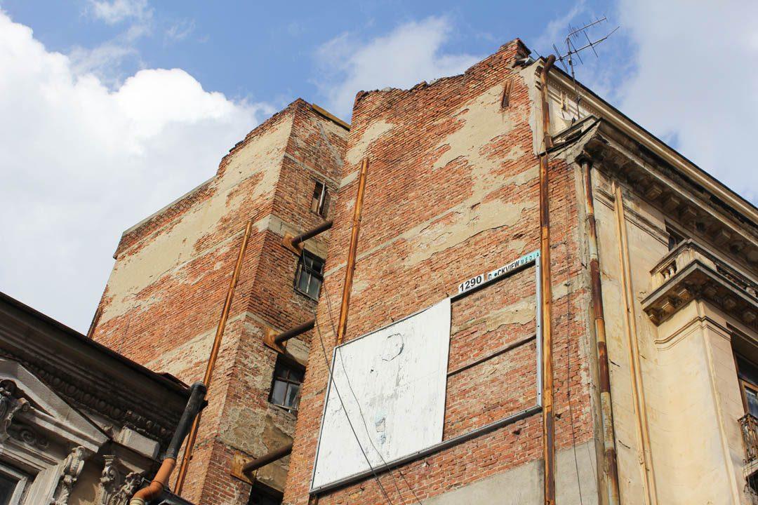 Jolies briques à Bucarest