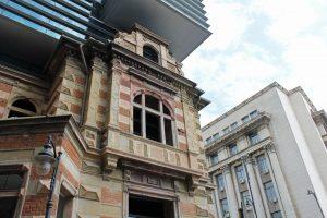 Réhabiliation moderne à Bucarest