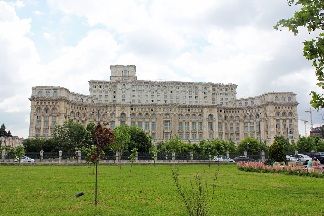Parlement roumain à Bucarest