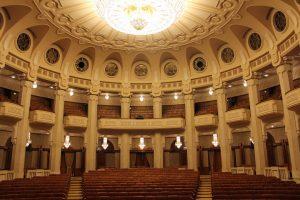 Salle des spectacles du Parlement roumain à Bucarest