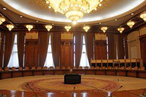 Parlement roumain à Bucarest
