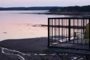 Vue de l'hôtel à Saint Andrews by the sea au Canada
