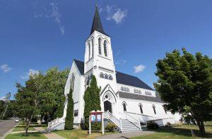 All Saints Church à Saint Andrews by the sea au Canada