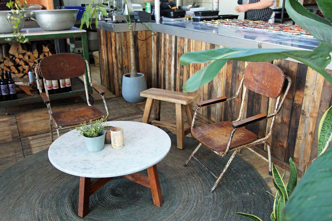 Restaurant Branding Beach Club sur la plage de Noordwijk aux Pays-Bas