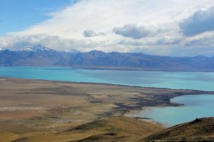 Vue sur le lago Argentina depuis Cerro Frias