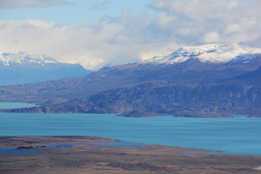 Région des lacs glaciaires en Argentine, parc naturel