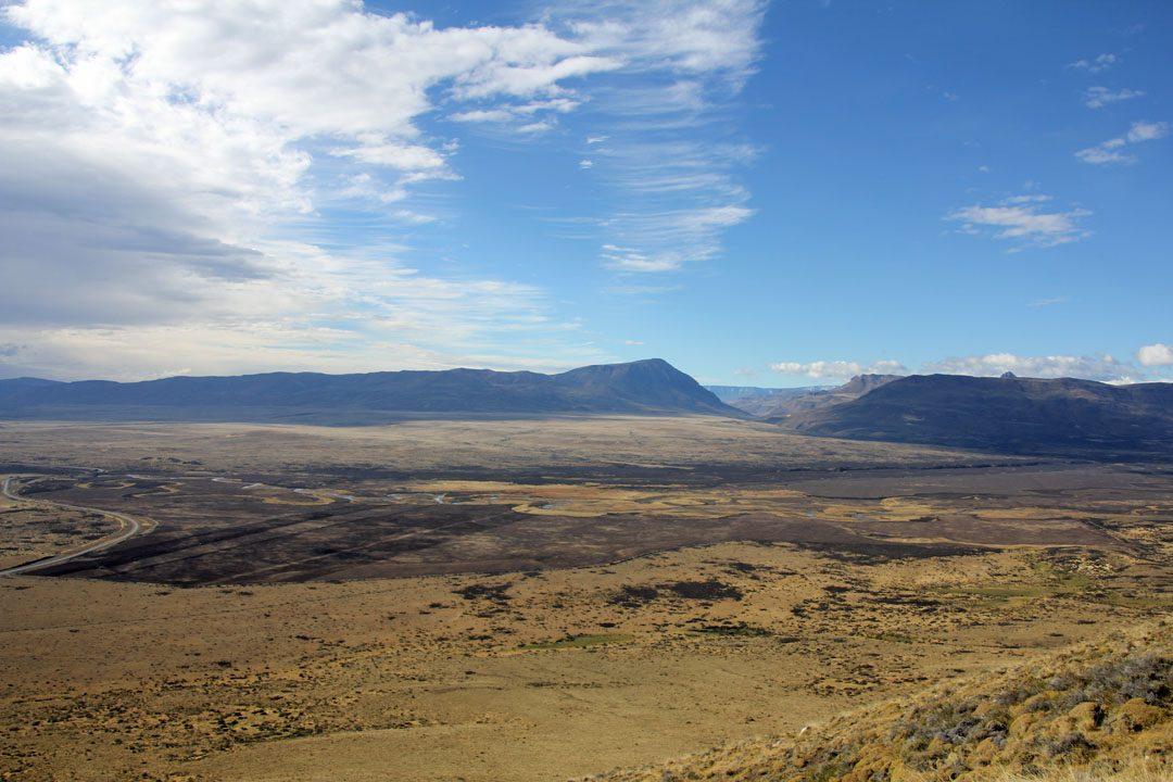 Vue depuis Cerro Frias, Patagonie argentine