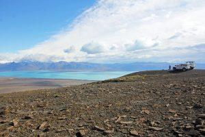 Région des lacs glaciaires en Argentine, excursion en 4x4