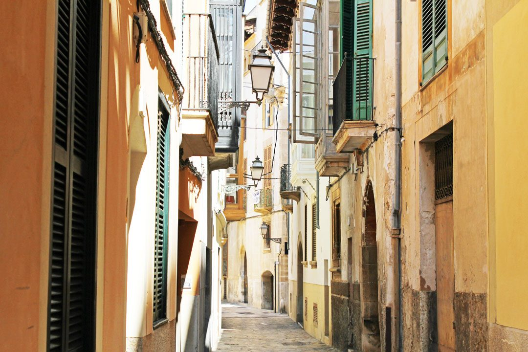 Charmantes rues de Palma de Majorque