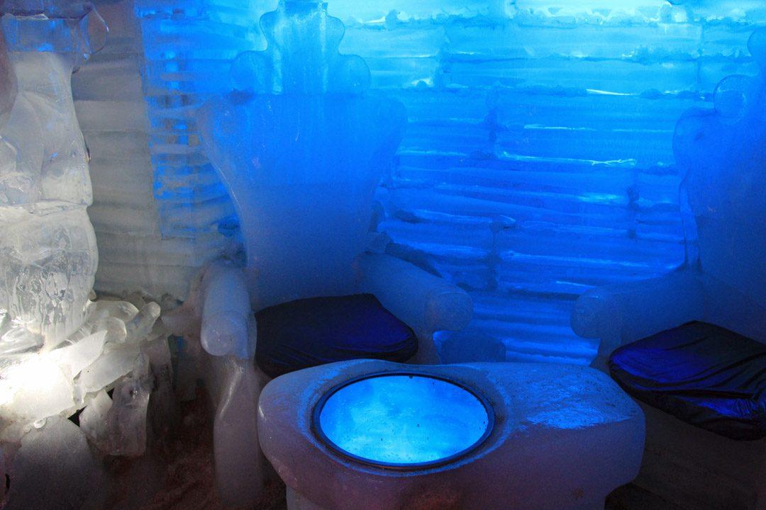 Ice Bar au Glaciarium ou musée des Glaciers en Argentine | www.happyusbook.com
