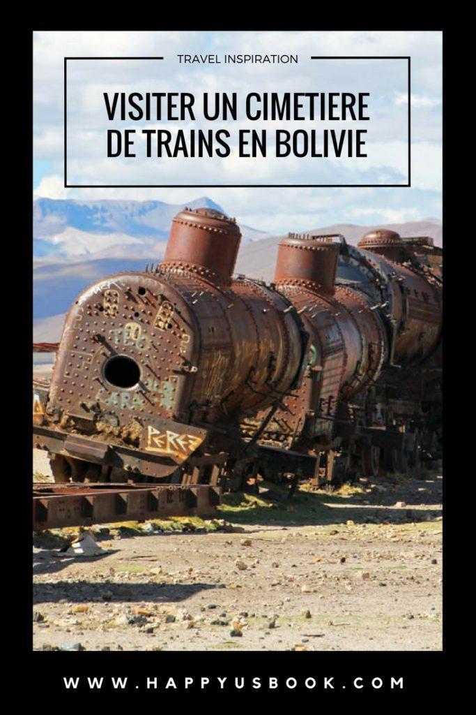 Visiter un cimetière de trains en Bolivie | www.happyusbook.com