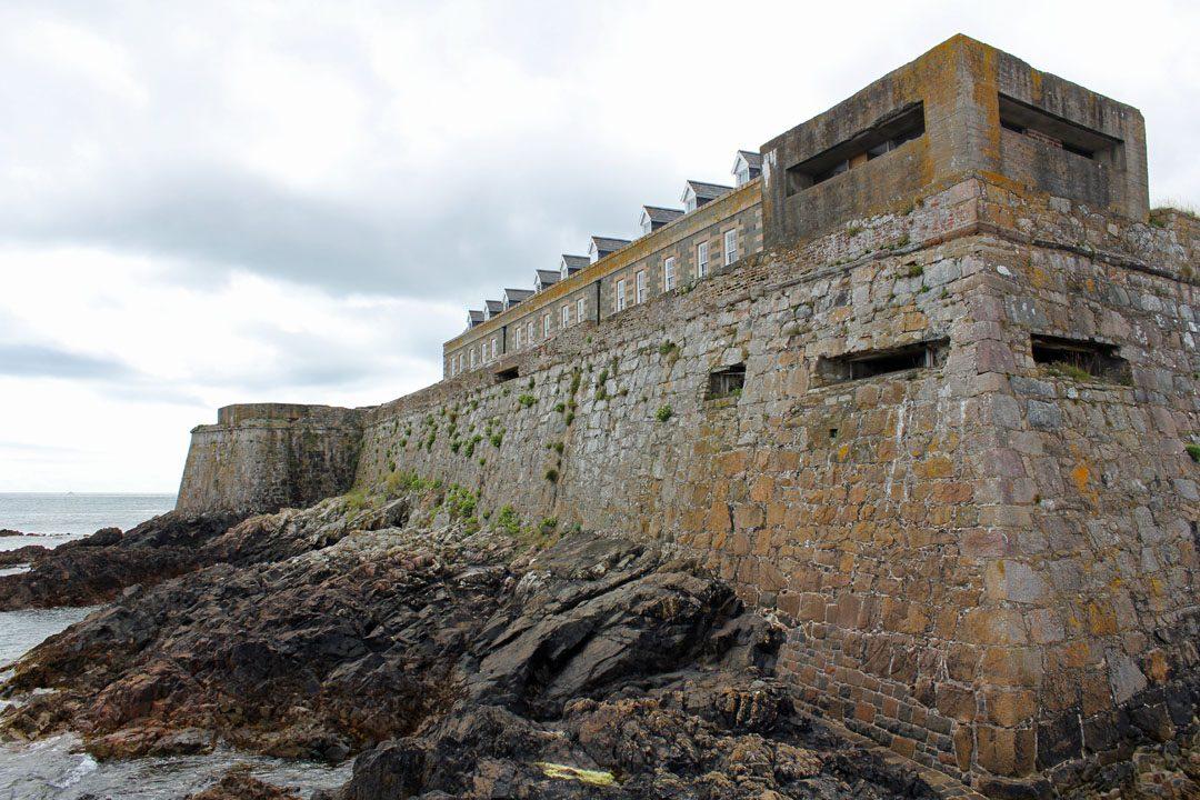 Castle Cornet à St Peter Port sur l'île de Guernesey