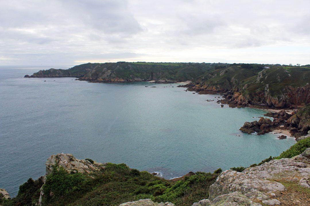 Icart Point sur l'Ile de Guernesey