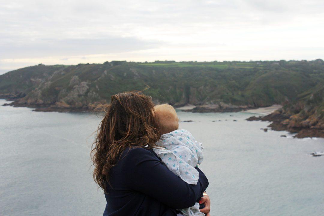Voyage en famille à Guernesey - Icart Point