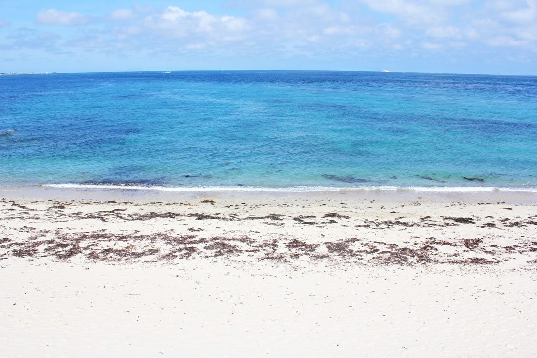 Plage paradisiaque sur l'Ile de Herm à Guernesey