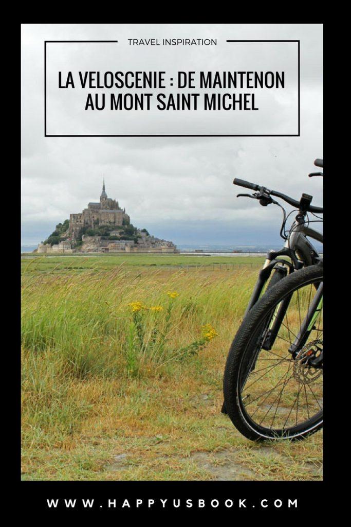 La Véloscénie: du Mont Saint Michel à Maintenon | www.happyusbook.com