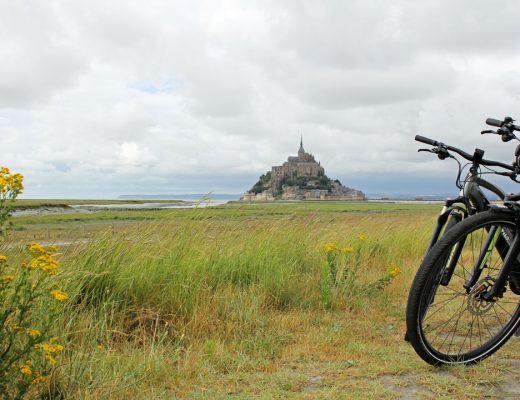 La véloscénie au Mont Saint Michel - voyage à vélo